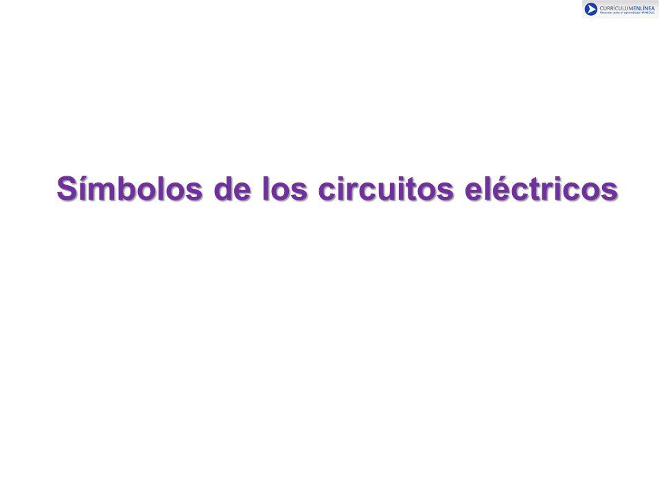 Símbolos de los circuitos eléctricos