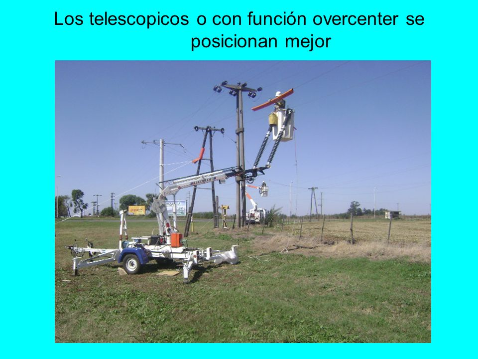 Los telescopicos o con función overcenter se posicionan mejor
