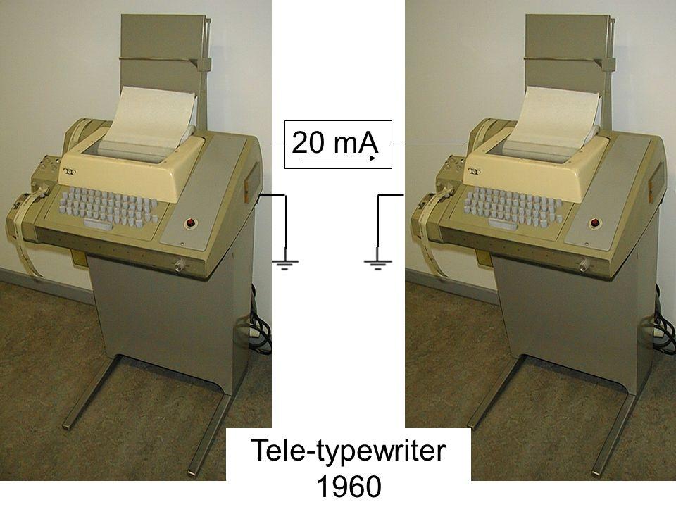 Tele-typewriter 1960 20 mA