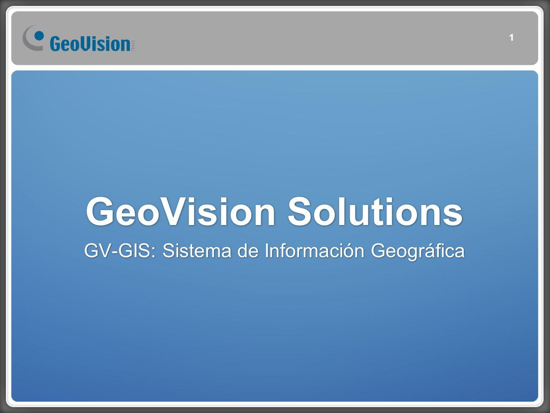 GeoVision Solutions GV-GIS: Sistema de Información Geográfica 1