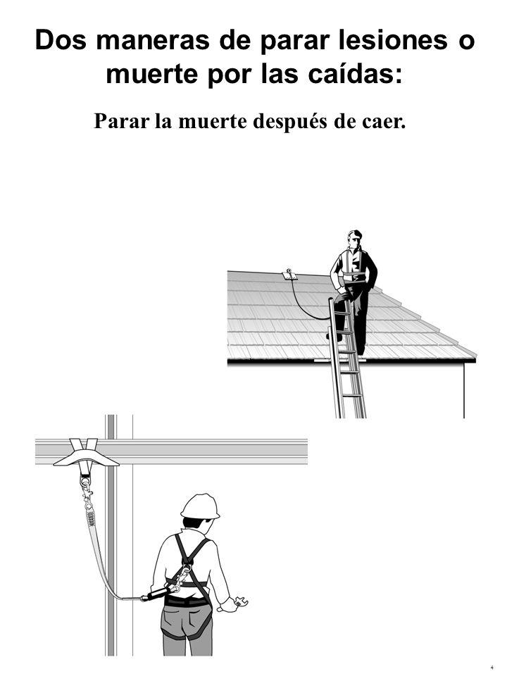 5 Dos maneras de parar lesiones o muerte por las caídas Parar la muerte después de caer.