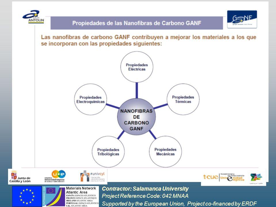 Contractor: Salamanca University Project Reference Code: 042 MNAA Supported by the European Union, Project co-financed by ERDF Materials Network Atlantic Area COLABORACIONES ARENAL I y II ESTUDIO Y DESARROLLO DE LA DEGRADACIÓN DEL CABLE EN LÍNEAS SUBTERRÁNEAS DE BT, (PROYECTO ARENAL) DISEÑO Y DESARROLLO DE UN SISTEMA DE SIMULACIÓN DEL COMPORTAMIENTO DE LÍNEAS SUBTERRÁNEAS (ARENAL II) MIEMBROS IBERDROLA Universidad de Salamanca: QESCAT, Automática, Informática, Ingeniería Química, Ing.
