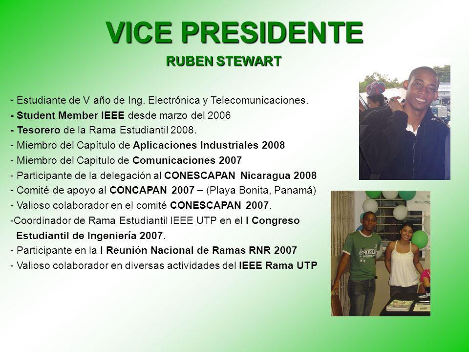 SECRETARIA MARIA CRISTINA RIOS - Estudiante de III año de Ing.
