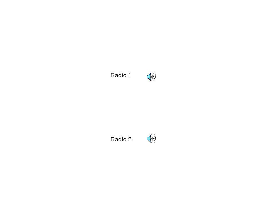 Radio 1 Radio 2