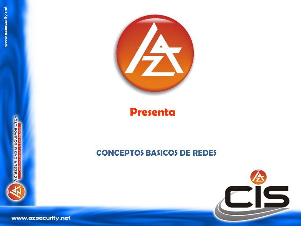 Presenta CONCEPTOS BASICOS DE REDES