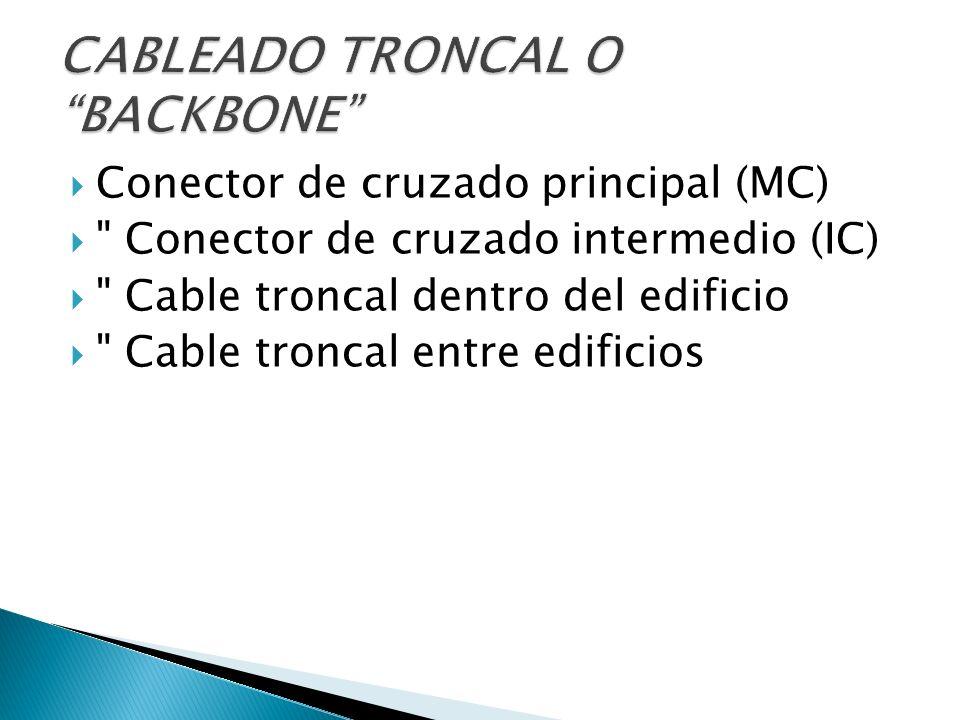Conector de cruzado principal (MC)