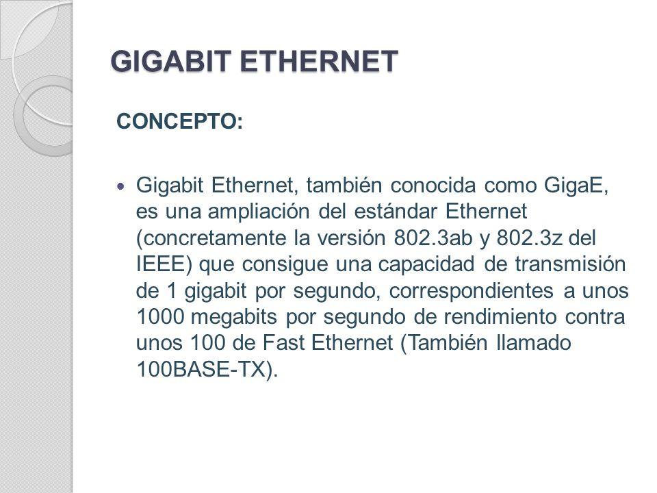 ESTANDARES PARA FIBRA ÓPTICA 100BASE-FX: Es una versión de Fast Ethernet sobre fibra óptica. Utiliza un tipo de luz 1300 (NIR; nm near- infrared) que