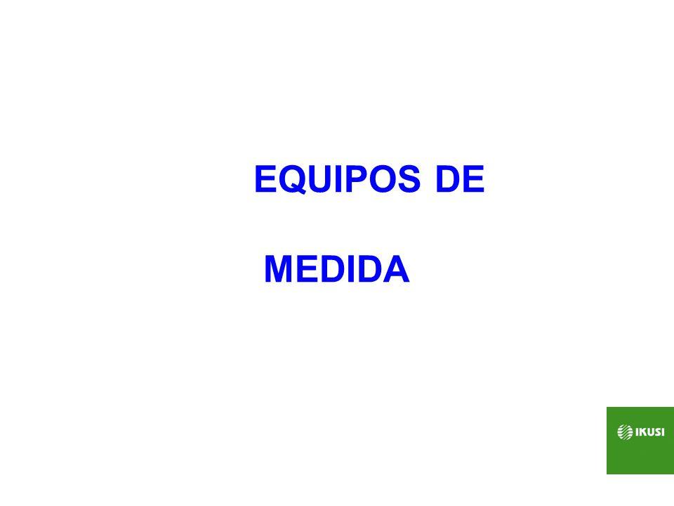 CERTIFICADOR DE REDES MEDIDOR OPTICO FUENTE DE LUZ Tres ventanas (1390, 1490 1510 nm.) 86.- Equipamiento de medida