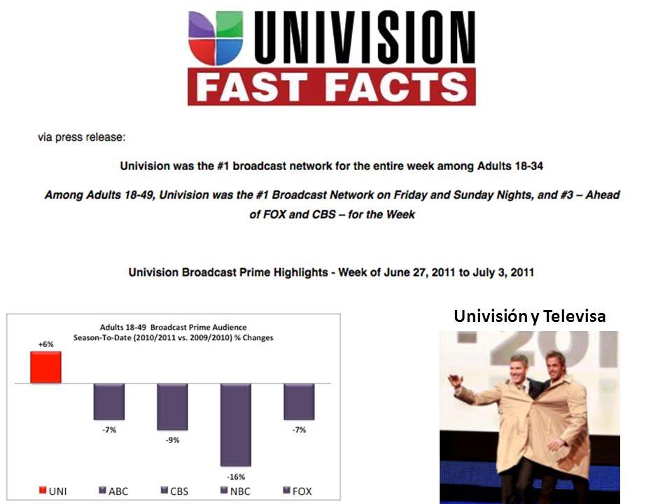Univisión y Televisa