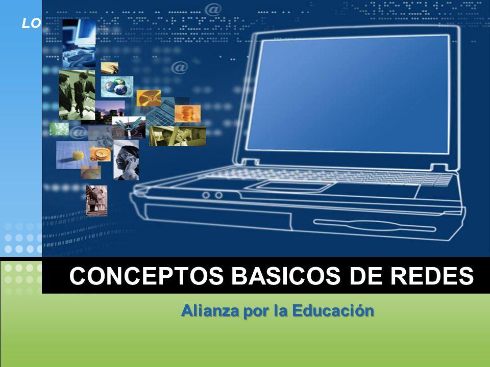 LOGO CONCEPTOS BASICOS DE REDES Alianza por la Educación