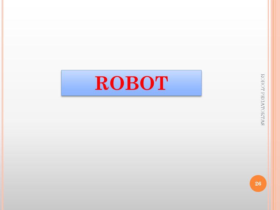 ROBOT 26 ROBOT PEGATORTAS