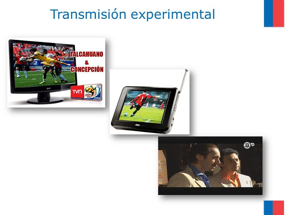 Transmisión experimental