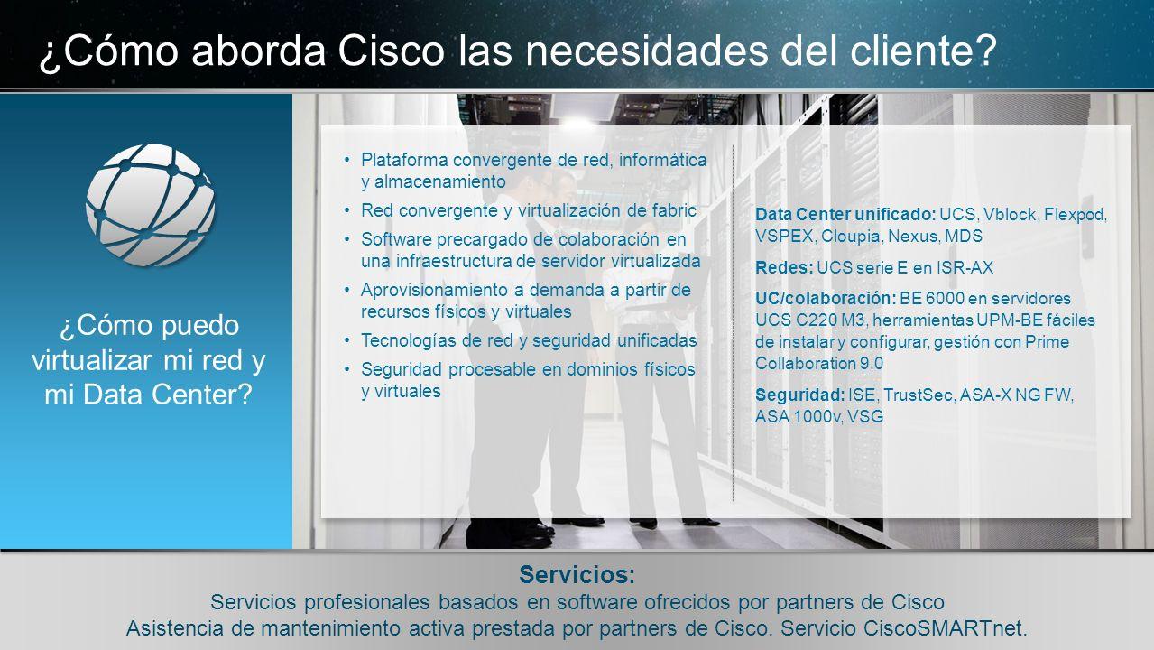 © 2010 Cisco y/o sus filiales. Todos los derechos reservados. Información confidencial de Cisco 11 © 2010 Cisco y/o sus filiales. Todos los derechos r