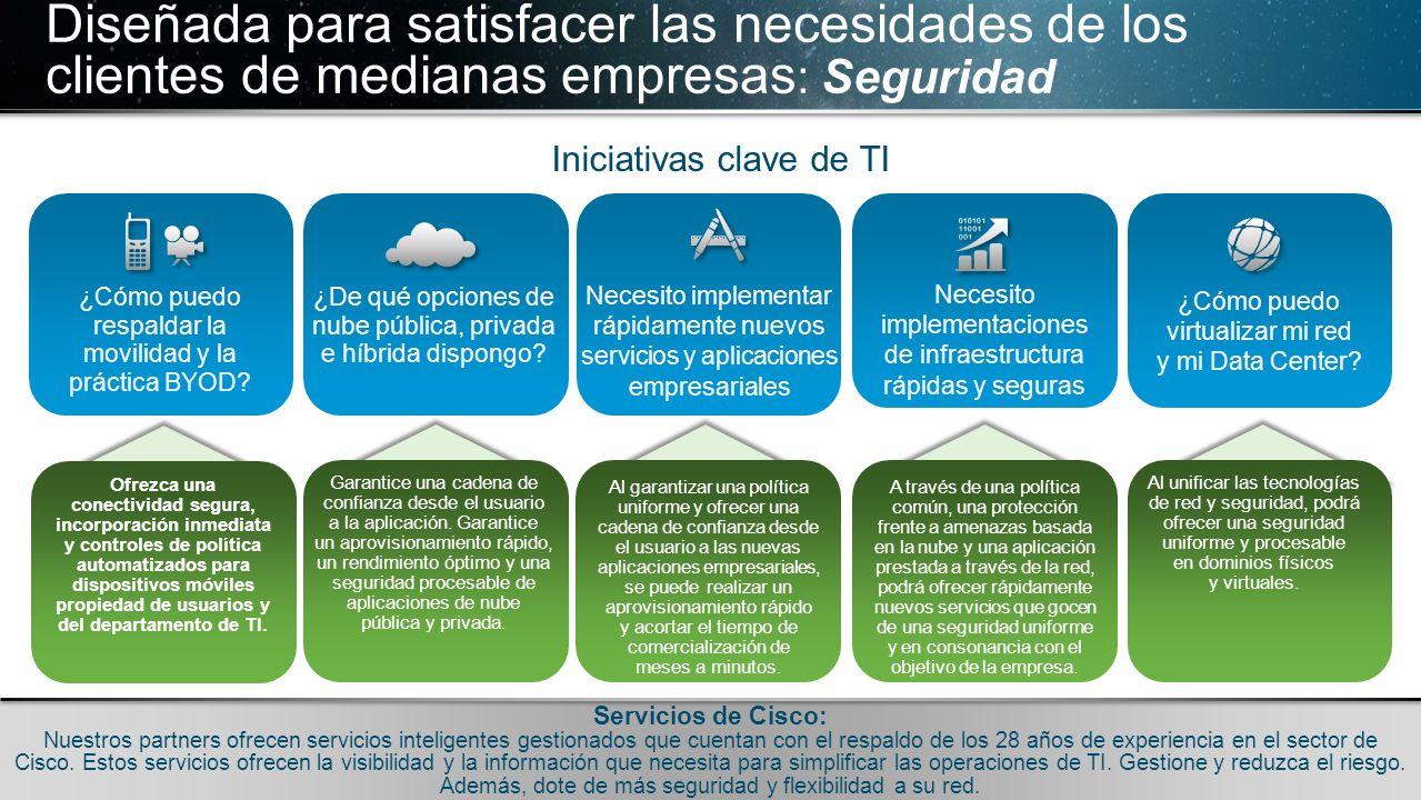 © 2010 Cisco y/o sus filiales. Todos los derechos reservados. Información confidencial de Cisco 23 © 2010 Cisco y/o sus filiales. Todos los derechos r