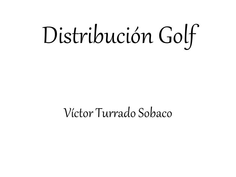 Distribución Golf Víctor Turrado Sobaco