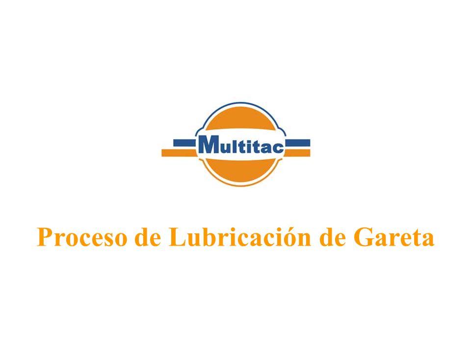 Proceso de Lubricación de Gareta