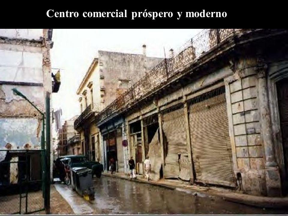 Centro comercial próspero y moderno