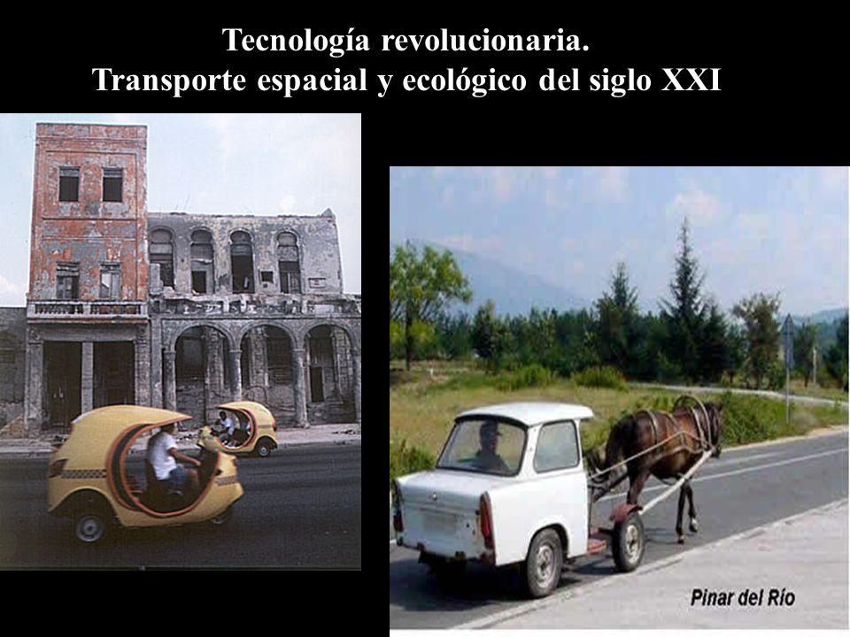 Tecnología revolucionaria. Transporte espacial y ecológico del siglo XXI
