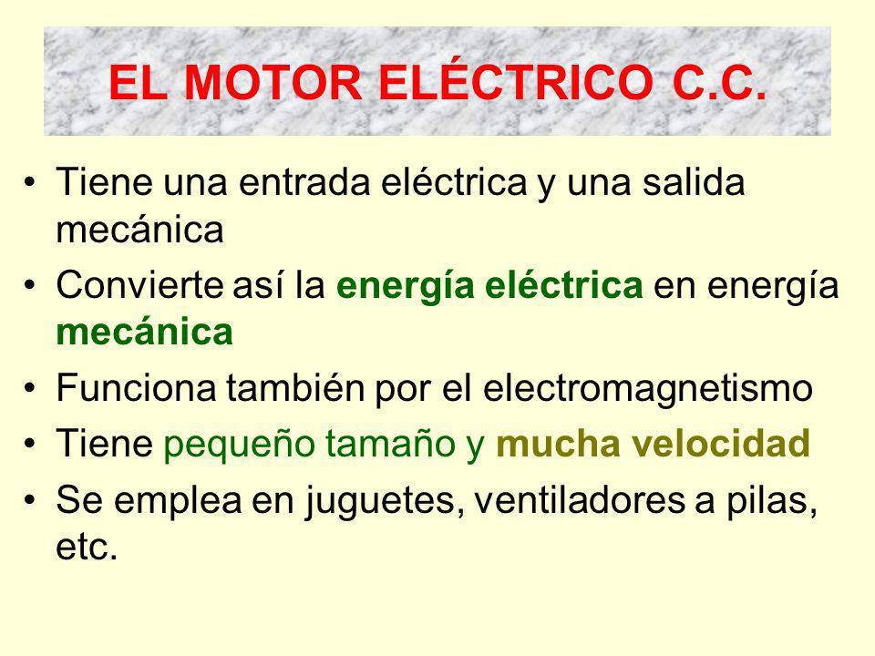 EL MOTOR ELÉCTRICO C.C.