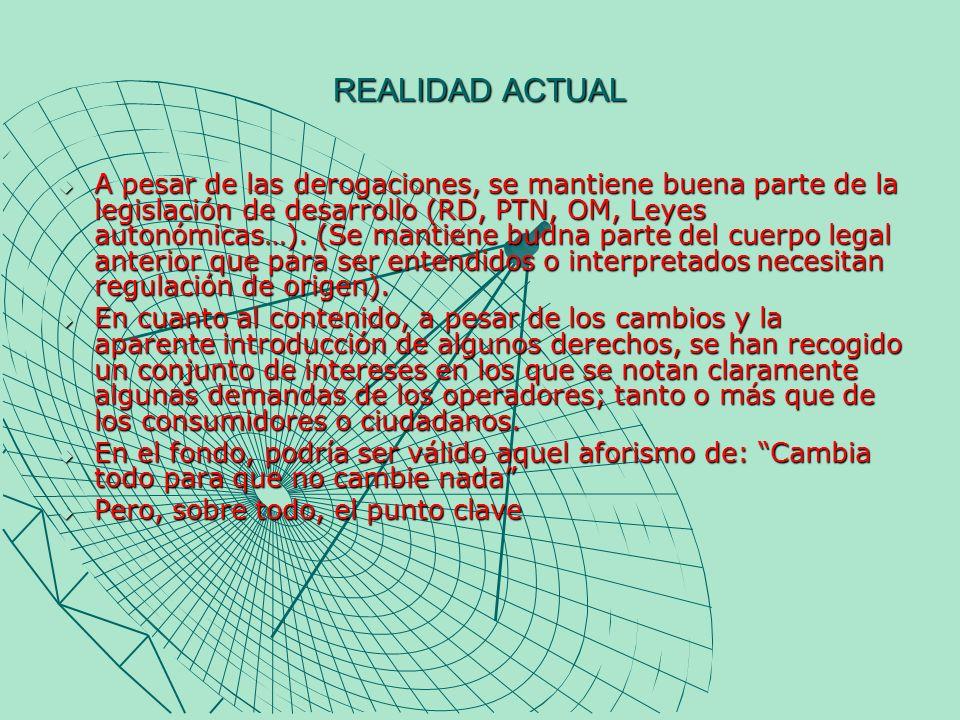 LOS DERECHOS DEL PÚBLICO -El derecho a recibir una comunicación audiovisual plural.