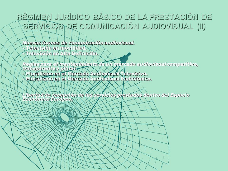 LOS PRESTADORES PÚBLICOS DEL SERVICIO DE COMUNICACIÓN AUDIOVISUAL.