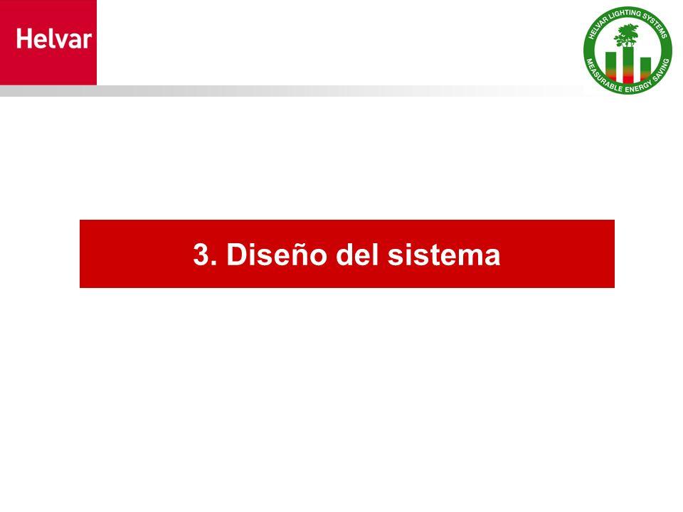 3. Diseño del sistema