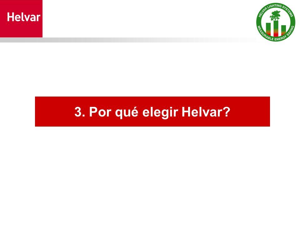 3. Por qué elegir Helvar?