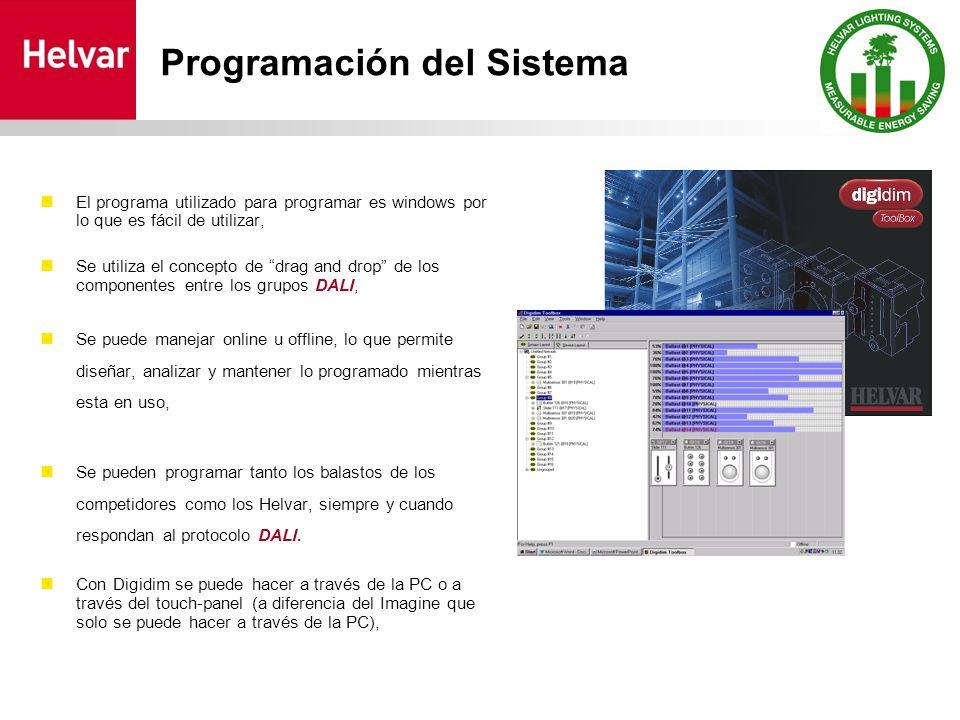 El programa utilizado para programar es windows por lo que es fácil de utilizar, Se utiliza el concepto de drag and drop de los componentes entre los