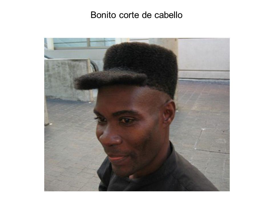 Bonito corte de cabello