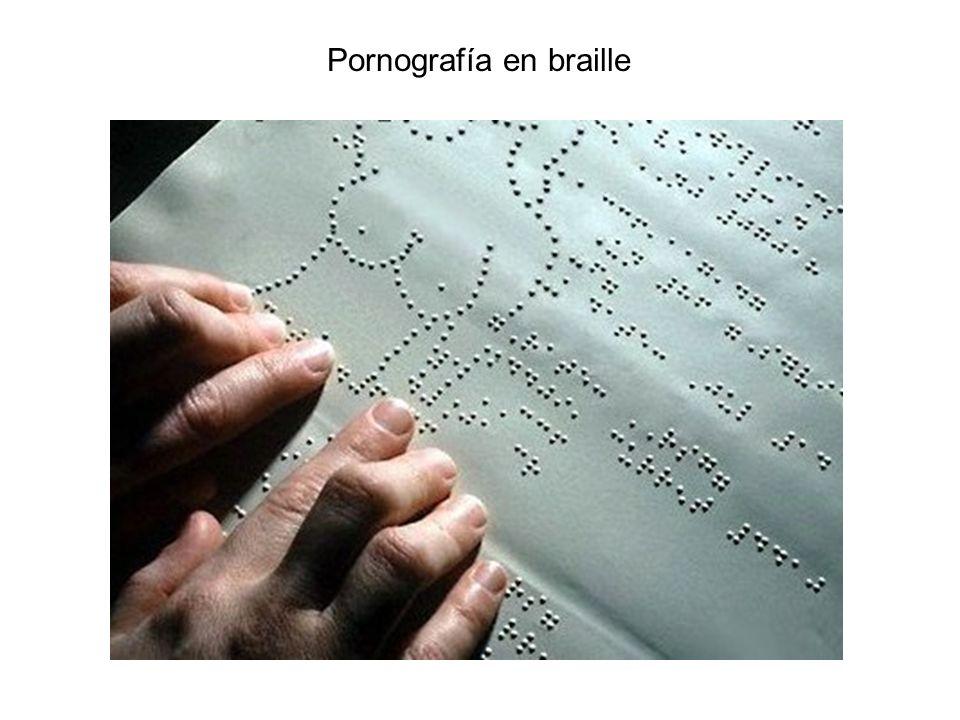Pornografía en braille