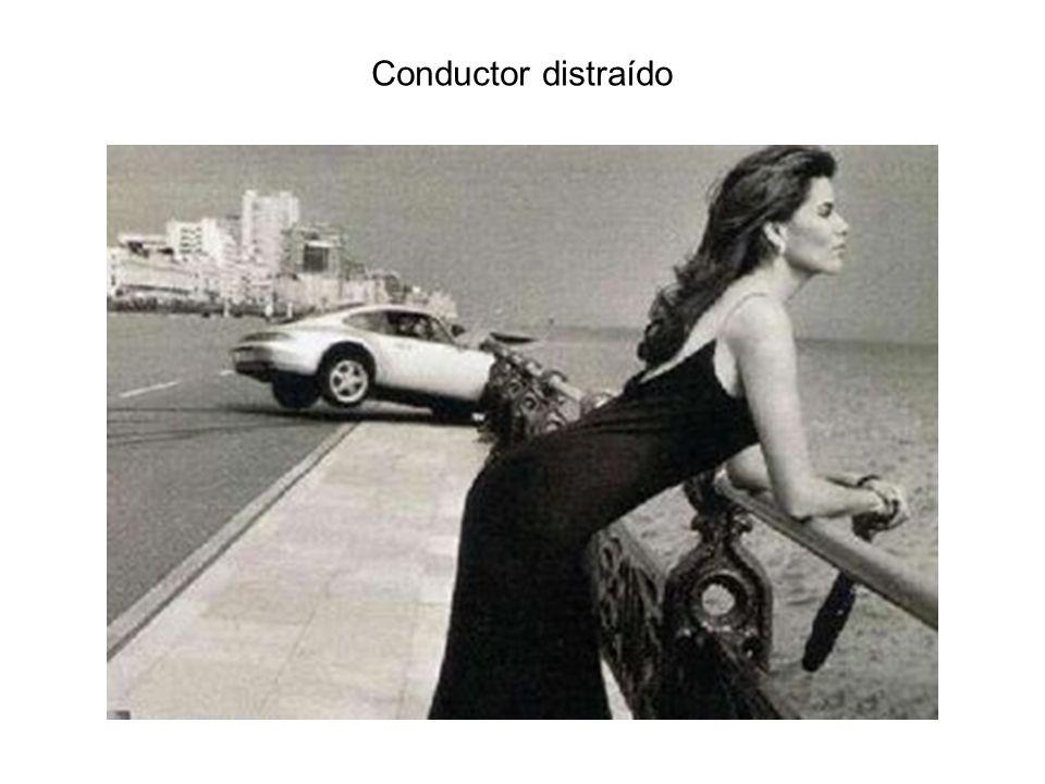 Conductor distraído