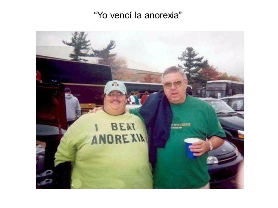 Yo vencí la anorexia