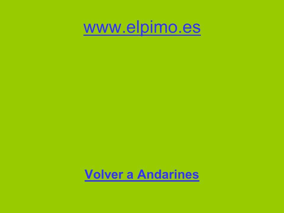 www.elpimo.es Volver a Andarines