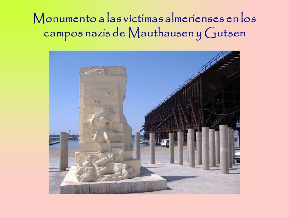 Monumento a las víctimas almerienses en los campos nazis de Mauthausen y Gutsen