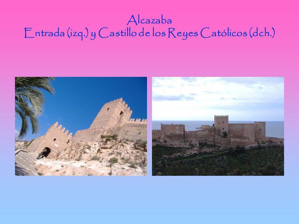 Alcazaba Entrada (izq.) y Castillo de los Reyes Católicos (dch.)