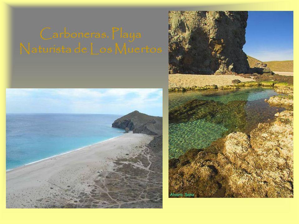 Carboneras. Playa Naturista de Los Muertos