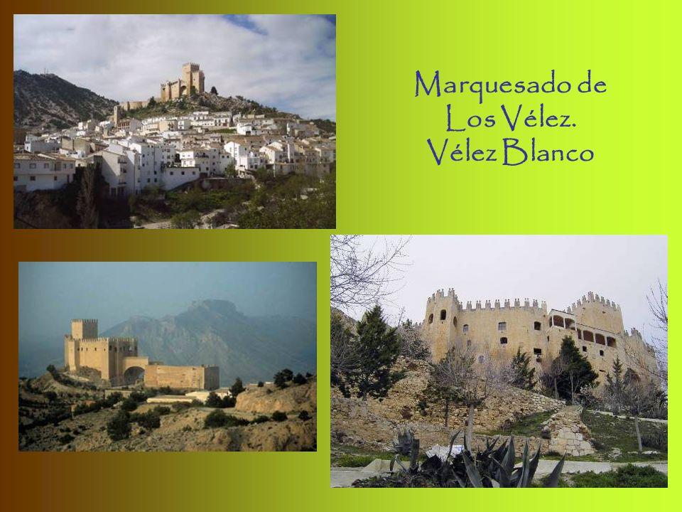 Marquesado de Los Vélez. Vélez Blanco