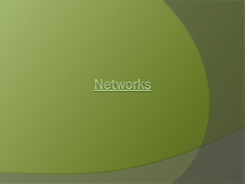 - A small college uses a 3-station client-server network for its administration.