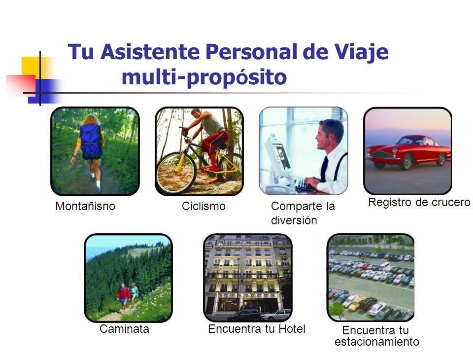 Tu Asistente Personal de Viaje multi-prop ó sito CiclismoComparte la diversión Registro de crucero Encuentra tu estacionamiento Encuentra tu HotelCami