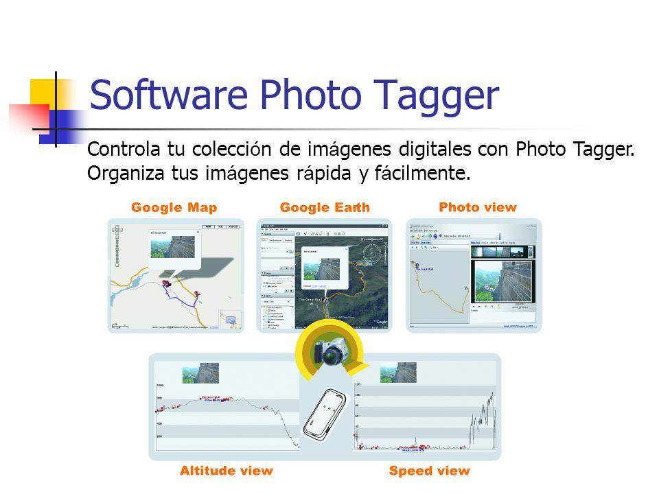 Software Photo Tagger Controla tu colecci ó n de im á genes digitales con Photo Tagger. Organiza tus im á genes r á pida y f á cilmente.