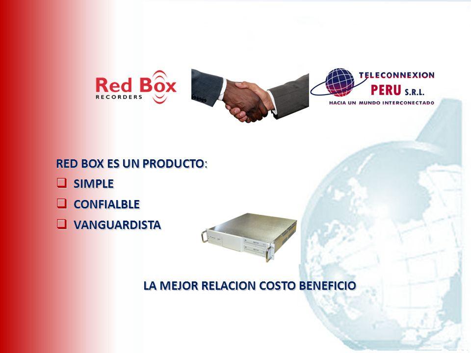 ¿Por que tener un Red Box.
