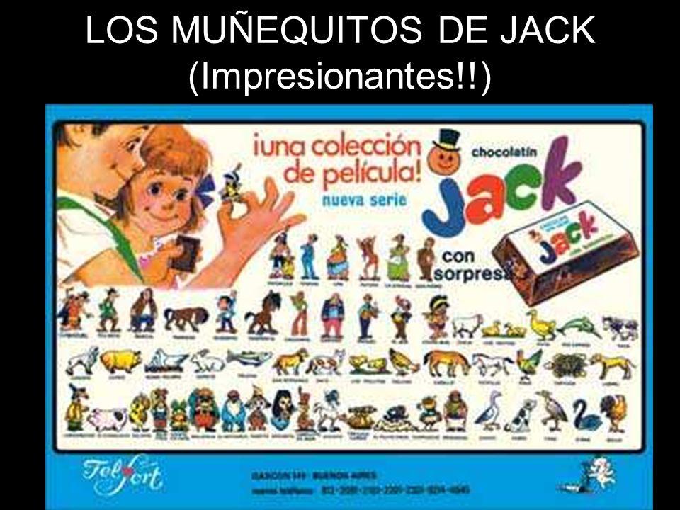 LOS MUÑEQUITOS DE JACK (Impresionantes!!)
