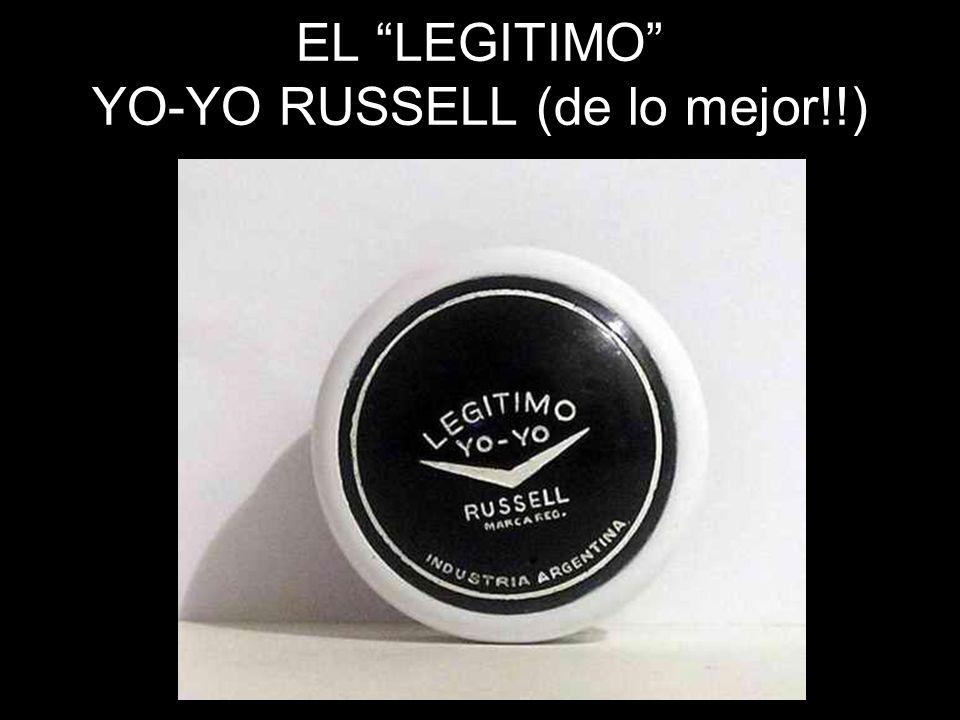 EL LEGITIMO YO-YO RUSSELL (de lo mejor!!)