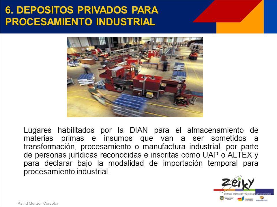 Astrid Monzón Córdoba UAP - BENEFICIOS Levante automático en importaciones Garantía global por todos sus actos aduaneros Aplicar para ALTEX Constituci