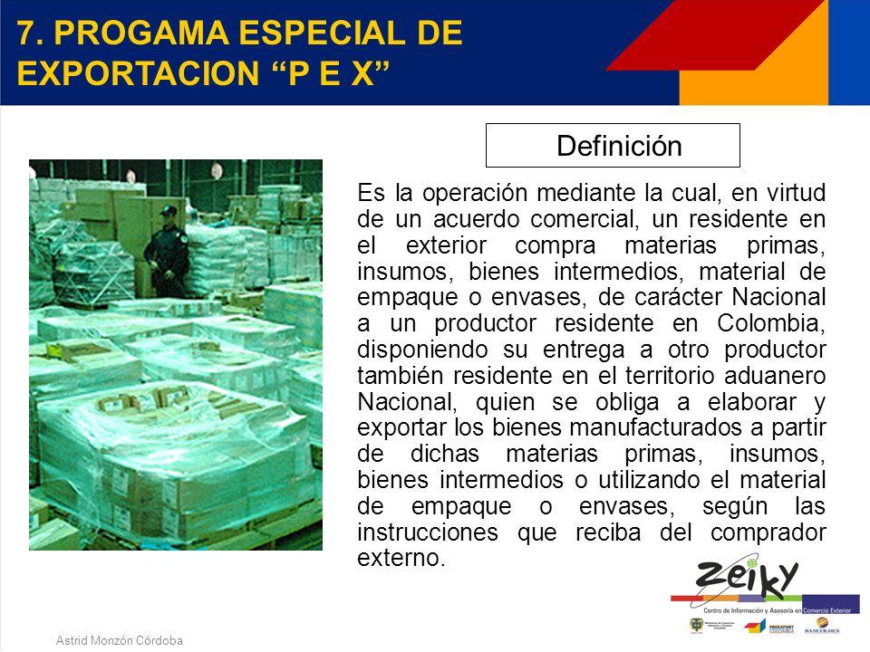 Astrid Monzón Córdoba DEPOSITOS PRIVADOS PARA PROCESAMIENTO INDUSTRIAL - REQUISITOS a)Patrimonio neto > $1400000.000 b) Area útil de 500 m2 c) Equipos
