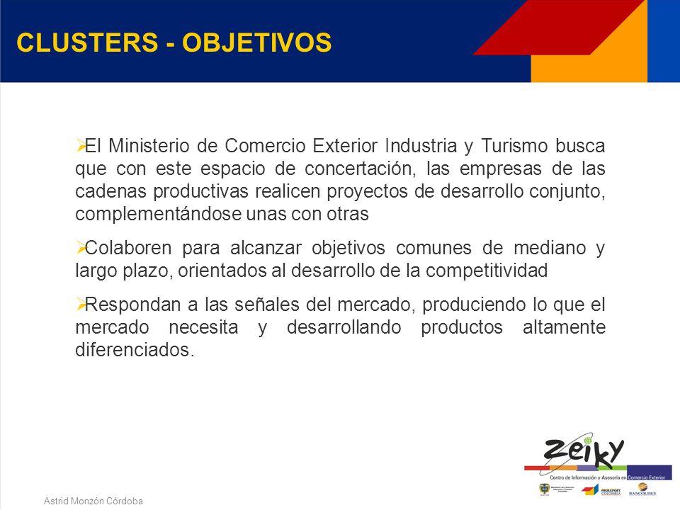 Astrid Monzón Córdoba Herramienta que permite a las regiones promover el trabajo concertado que se desarrolla en el ámbito nacional, mediante la incor