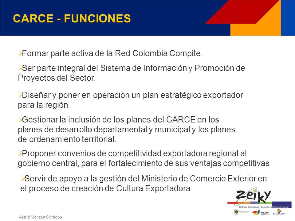 Astrid Monzón Córdoba CARCE - ESTRUCTURACION