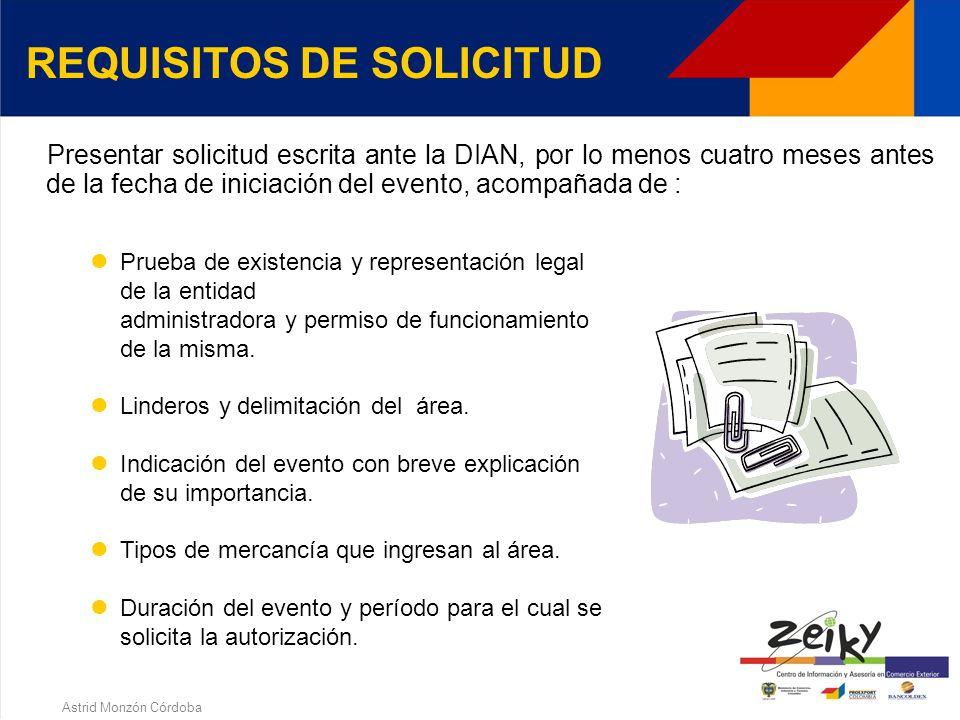 Astrid Monzón Córdoba CLASES DE USUARIOS USUARIO OPERADOR. Entidad administradora del área, constituida como persona jurídica, pública, privada o mixt