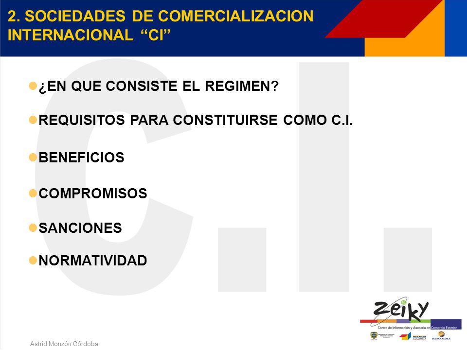 Astrid Monzón Córdoba BENEFICIOS ADUANEROS Z.F.T. El ingreso de bienes desde el extranjero a Zona Franca no constituye importación, por tanto están ex