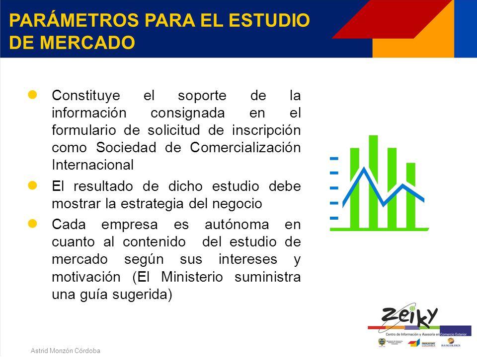 Astrid Monzón Córdoba La empresa puede adjuntar a la solicitud, certificaciones escritas de los proveedores donde conste: DOCUMENTOS PARA REGISTRARSE